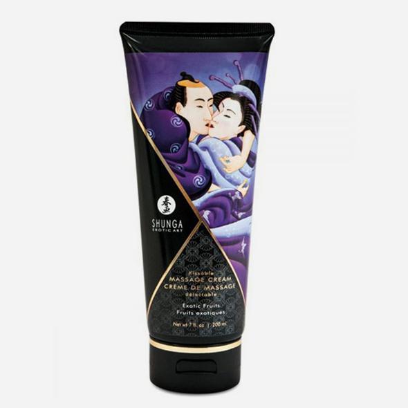 crème hydrante de massage exotique shunga