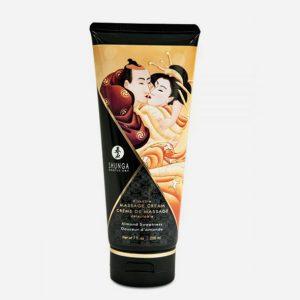 crème hydrante de massage shunga à l'amande