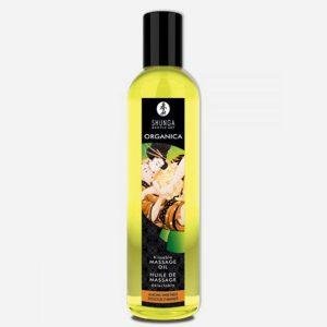 huile de massage aphrodisiaque bio shunga-amande
