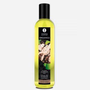 huile de massage aphrodisiaque bio shunga-chocolat