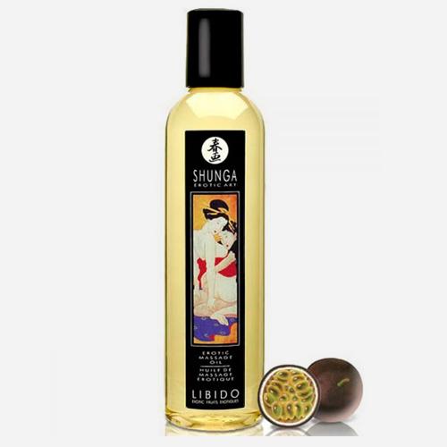 huile de massage aphrodisiaque shunga-libido fruits exotiques