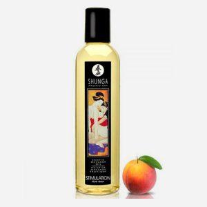 huile de massage aphrodisiaque shunga-stimulation pêche
