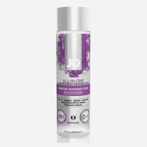huile de massage lavande 120 ml system jo