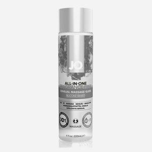 huile de massage naturel 120 ml system jo