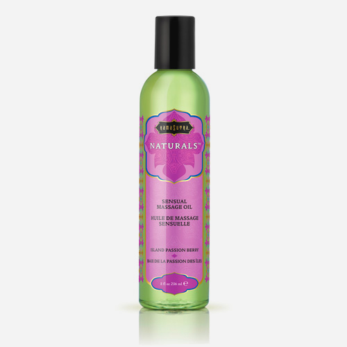 kama sutra naturals massage island oil passion berry