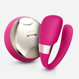 lelo tiani 3 cerise luxe rechargeable massager