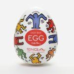 oeuf tenga – keith haring egg street