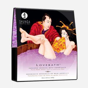 sels de bain lotus japonais Shunga