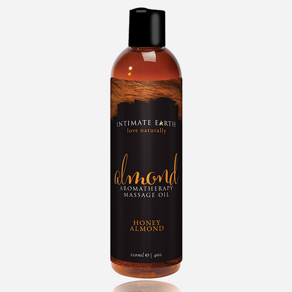 Huile de massage Amande & miel - INTIMATE EARTH