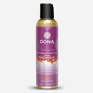 Huile de massage parfumée tropical tease - Dona