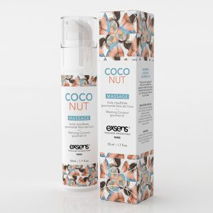 Huile de massage HOT Gourmand Coco 50ML - Exsens