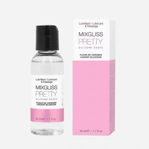 Lubrifiant silicone Fleur cerisier 50 ML – Mixgliss