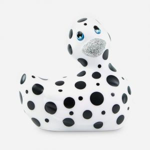 Canard vibrant hapiness noir et blanc - Big Teaze Toys