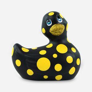 Canard vibrant hapiness noir et jaune - Big Teaze Toys