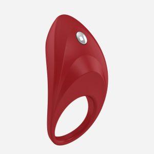 Anneau vibrant rouge B7 Ovo