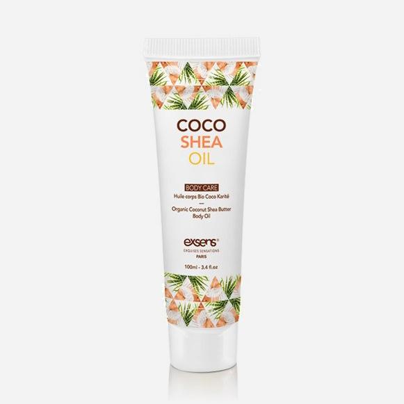 Huile de massage Coco karité hydratante - Exsens