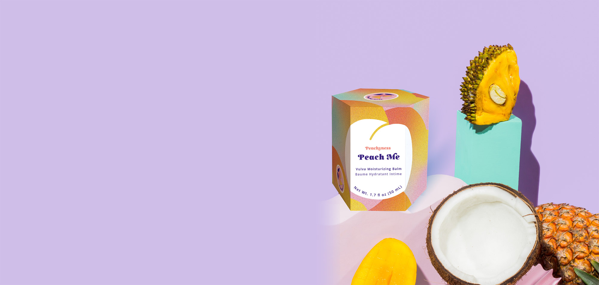 Peach me baume hydratant vulve sécheresse vaginale